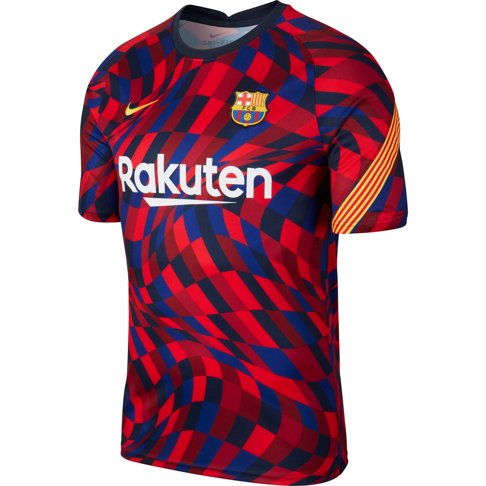 Nike FC Barcelona Men's Short-Sleeve Soccer Top