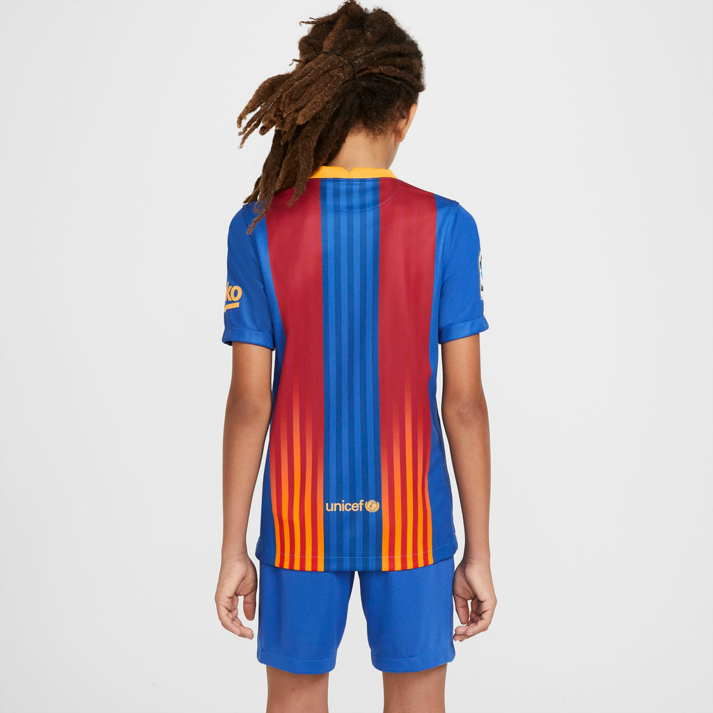 Nike FC Barcelona Stadium Big Kids' Jersey (KIDS)