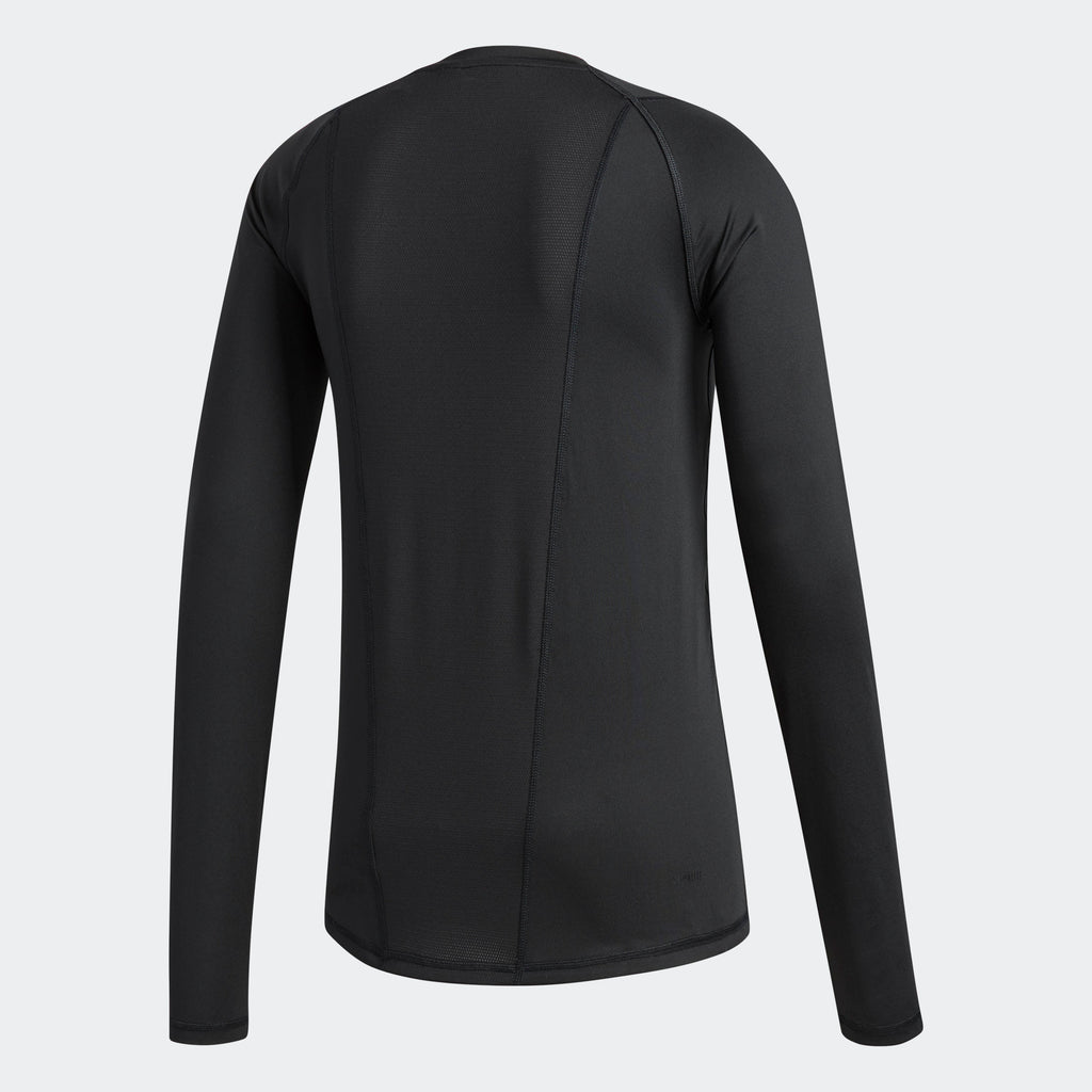 adidas Alphaskin Long Sleeve Fitted Tee