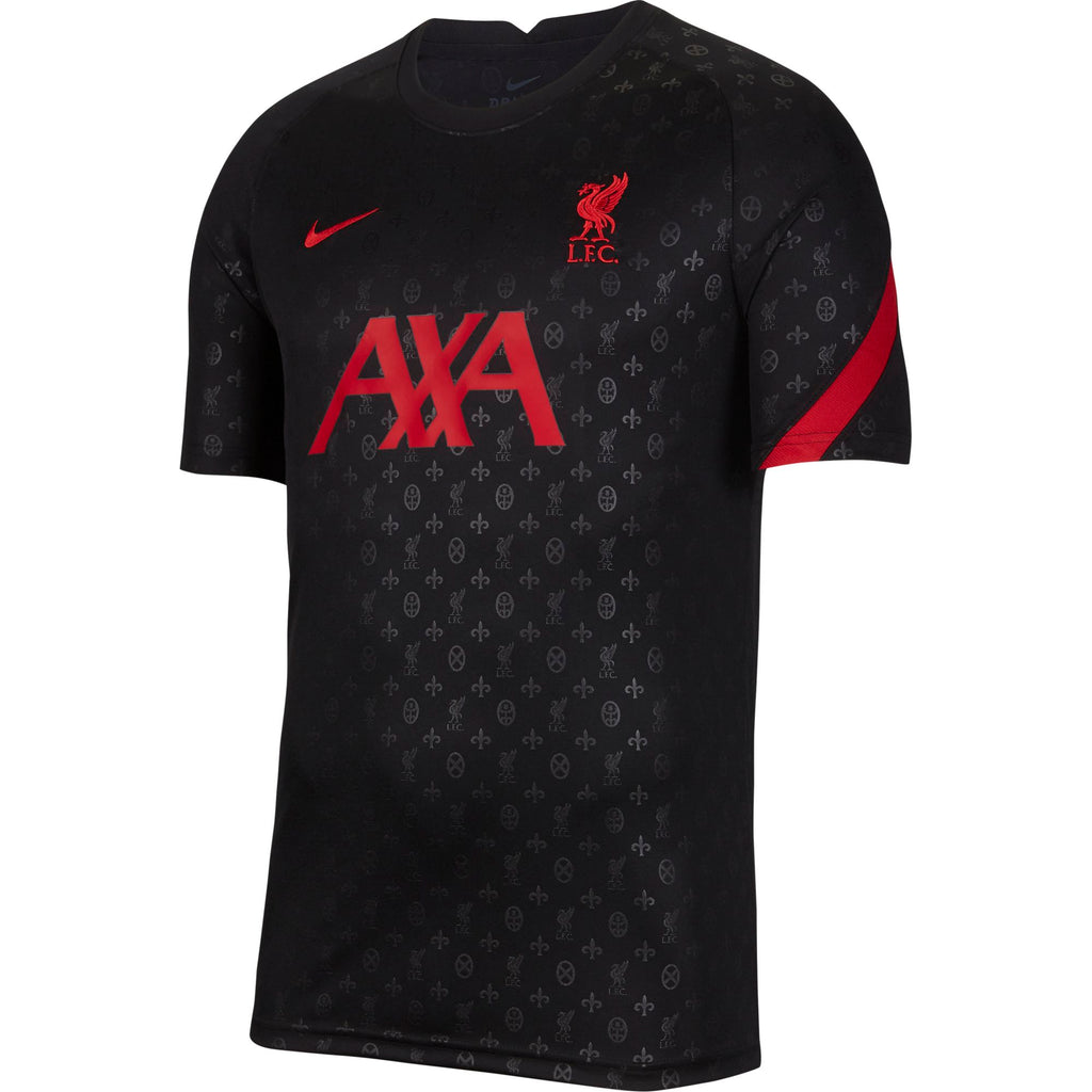 Nike Liverpool FC Men's Pre-Match Short-Sleeve Football Top