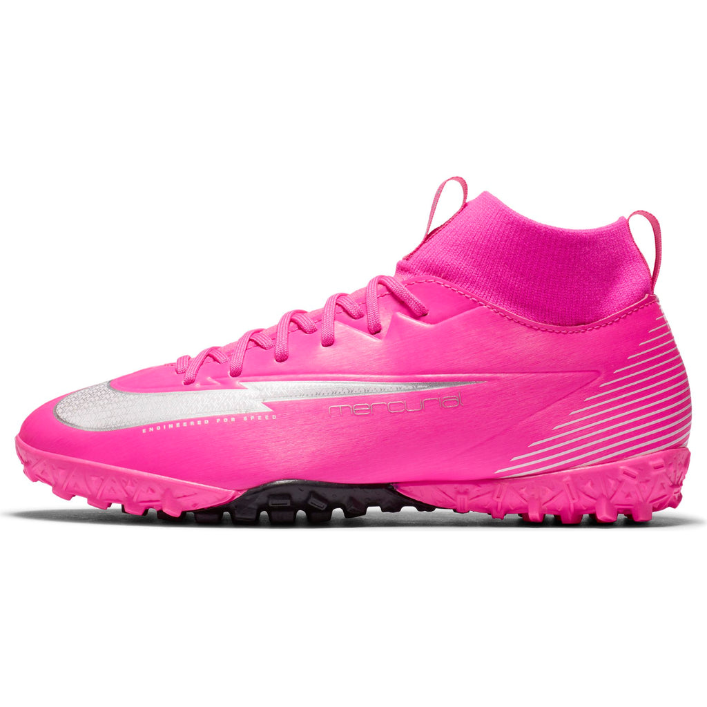 Nike Jr Mercurial Superfly 7 Academy Mbappe Rosa Turf (Youth)