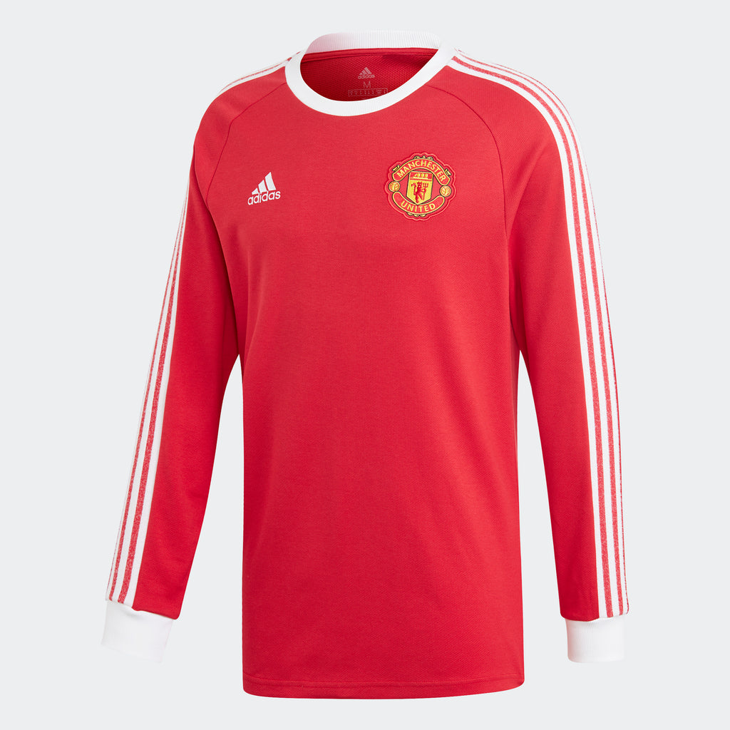 adidas Manchester United Icons Long Sleeve Tee