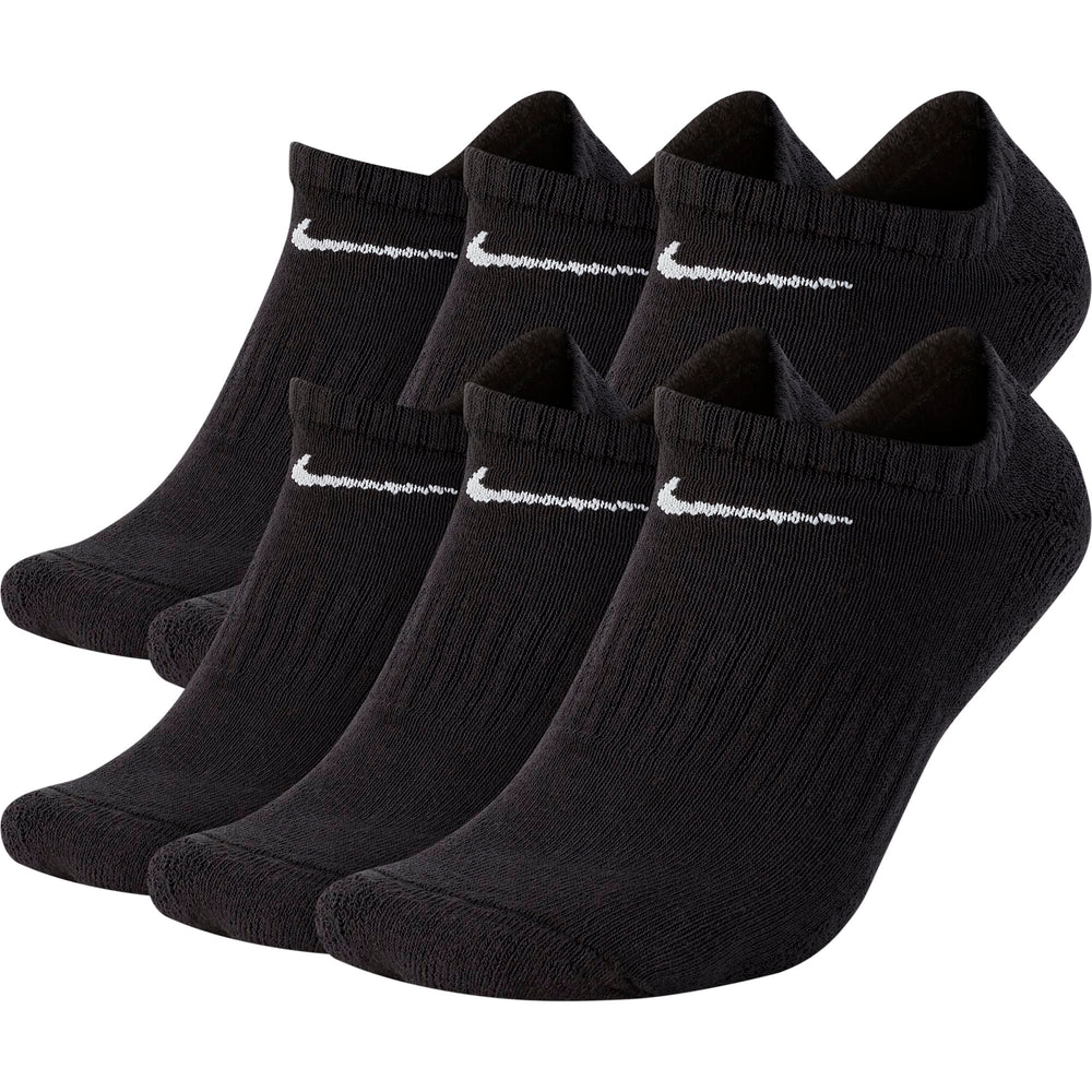 Nike Everyday Cushioned Training No-Show Socks (6 Pairs)