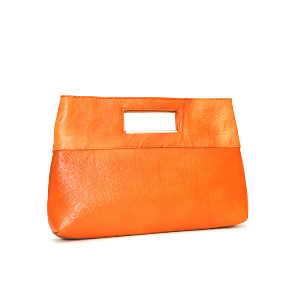 Elegant Genuine Leather Clutch