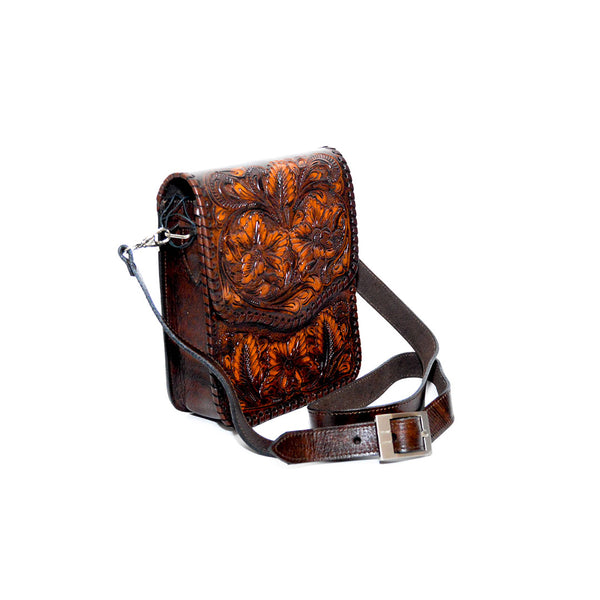 Handcrafted Cross-body handbag