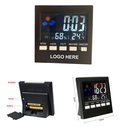 Multi Functional Thermometer Electronic Clock