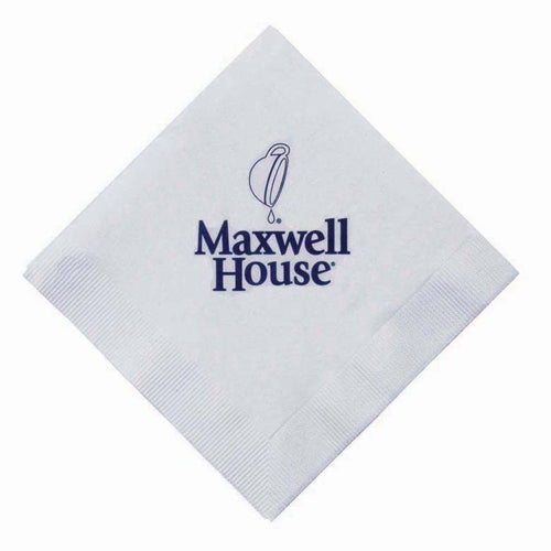 The 500 Line White 3-Ply Beverage Napkins (5