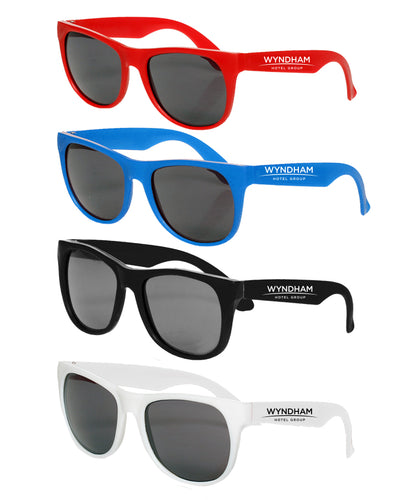 Vegas Two Tone Colored Sunglasses