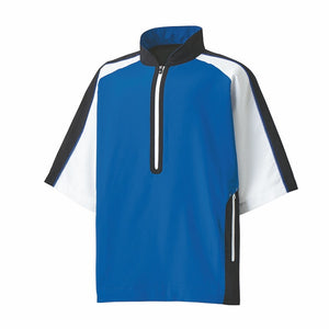 FootJoy Short Sleeve Sport Windshirt (Royal/Black/White)