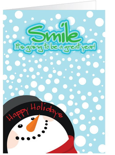 Happy Fella Holiday Greeting Card