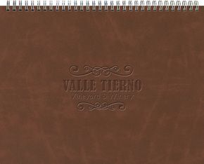 ThePresident™ Monthly Planner - Leather Front/Chip Back (11