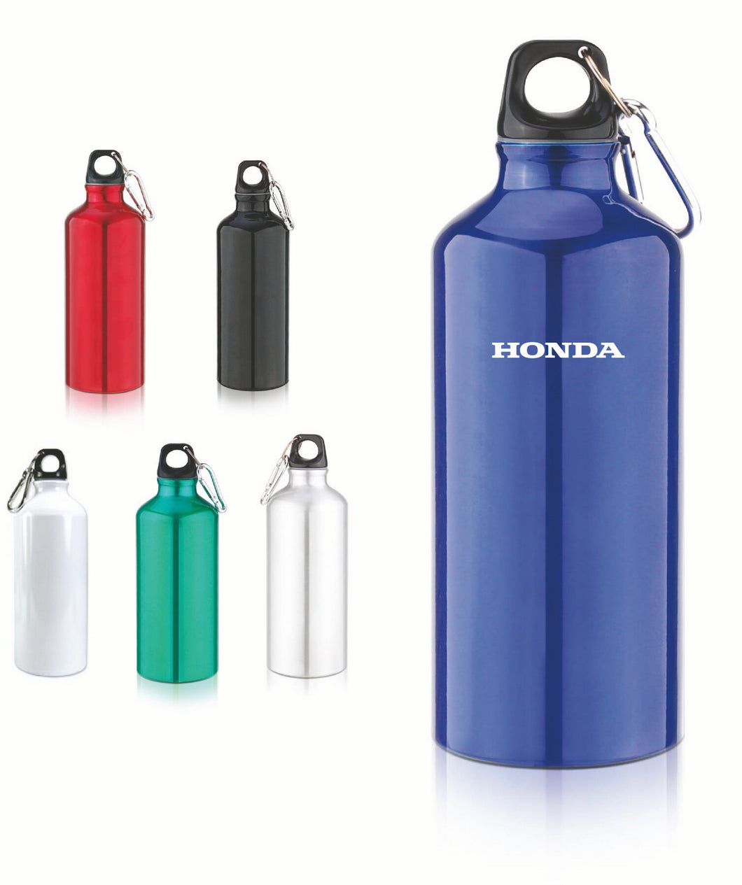 20 Oz. Aluminum Sports Bottle w/Carabiners