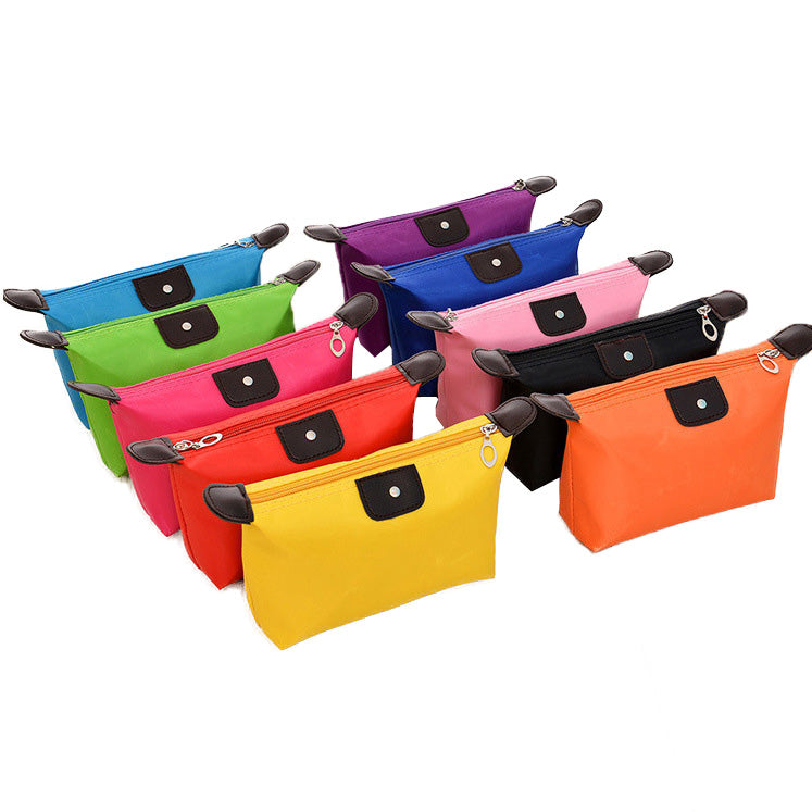 Nylon Waterproof Cosmetic Bag