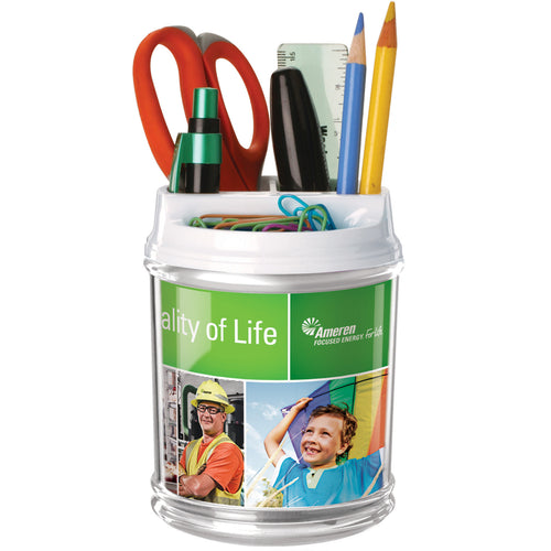 Full-Color DeskPlus Caddy Organizer