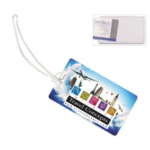 ID Slip-In Pocket Luggage Bag Tag (Photoimage Full Color)