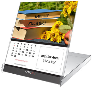 Image Personalized CD Jewel Case Calendar