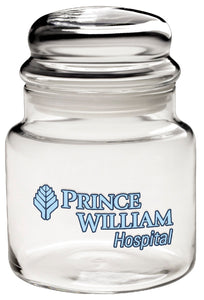 16 Oz. Medium Apothecary Jar w/ Dome Lid