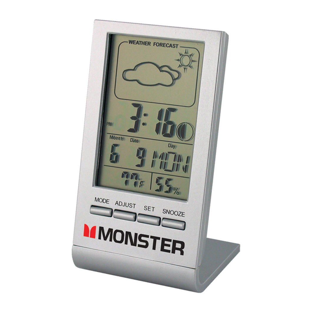 Clock - Weather Station - Weather Forecast Multifunction Desk Clock