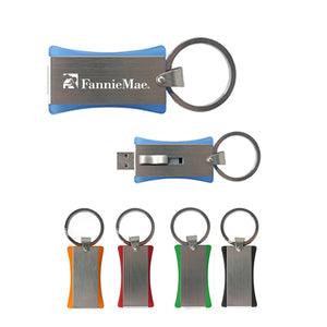 1GB USB Flash Drive Keychain