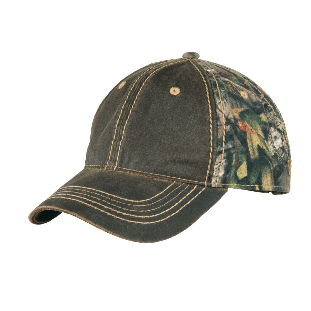 Port Authority® Pigment-Dyed Camouflage Cap
