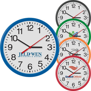 "12"" Thin Frame Wall Clock"