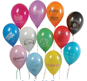 "9"" Standard Natural Latex Balloon"