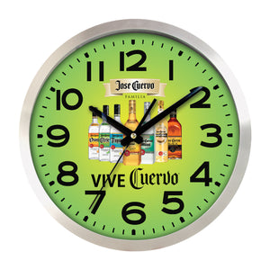 Clock - Large Aluminum Wall Clock Full Color