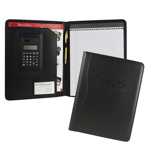 Classic Calculator Padfolio (Black)