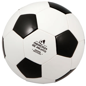 Regulation Size Black & White Soccer Ball