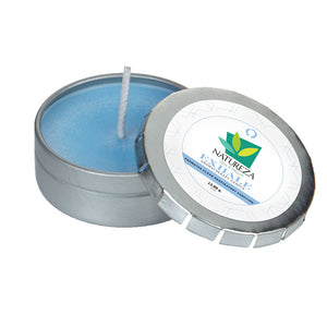 Aromatherapy Candle in Small Push Tin