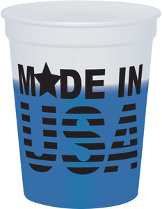 16 Oz. Smooth Mood Stadium Cup (Screen Printed)