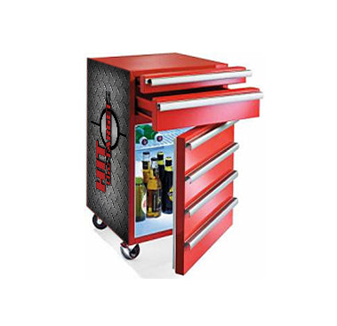 SUBZ 52L Tool Box Mini Fridge