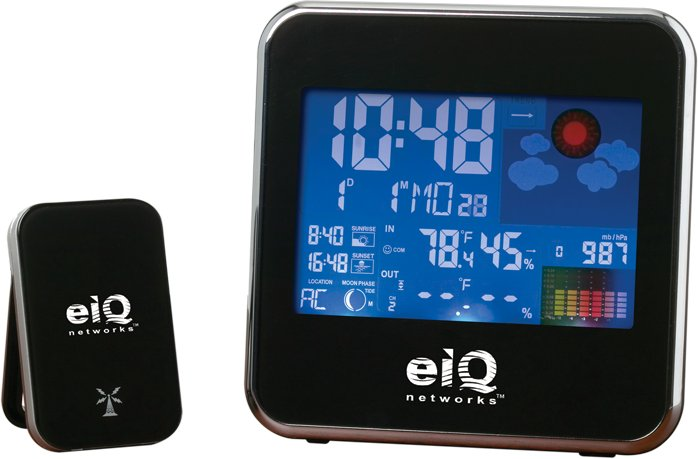 Equinox Wireless Weather Station w/Color Display