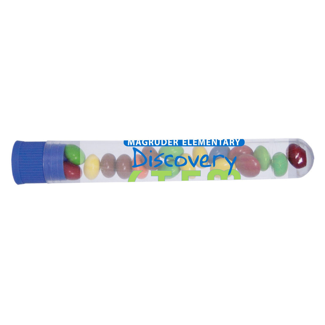 Test Tube With Mints, Candy, or Chocolate