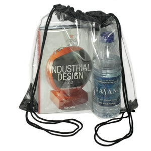 Drawstring Backpack - Clear Drawstring Bags