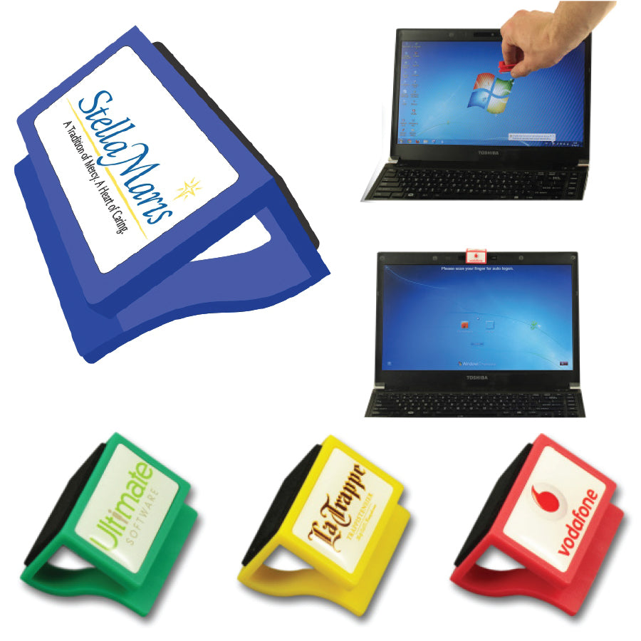 Webcam Cover With Screen Cleaner