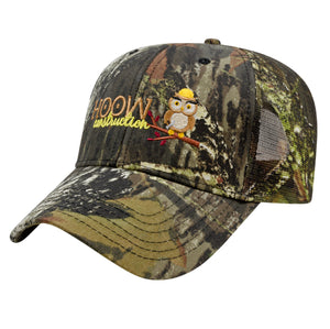 All Over Camo w/Mesh Back Cap