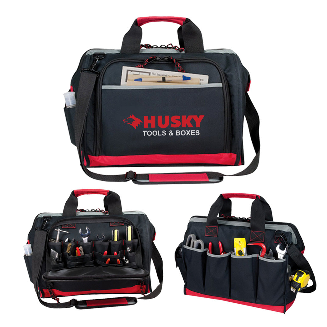 Deluxe Poly Tool Bag with Shoulder Strap