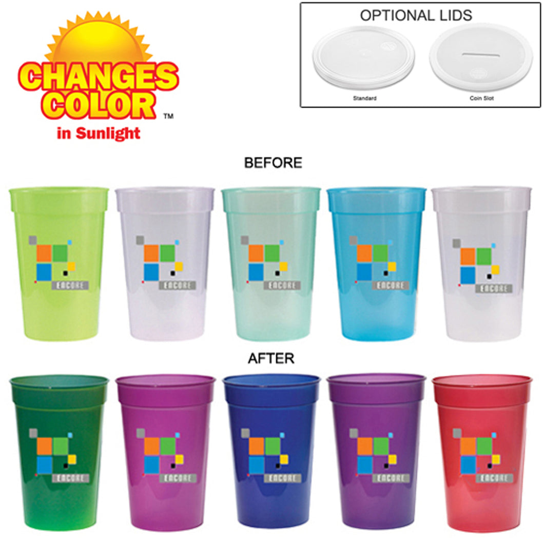 17 Oz. Sun Fun Stadium Cup (Full Color Digital)