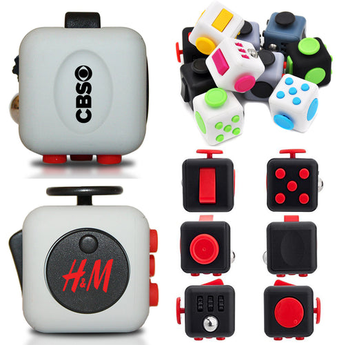 Classic Fidget Cube Stress Reliever Toy