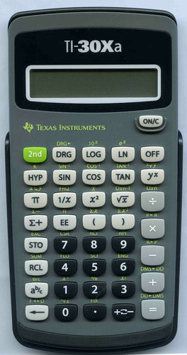 Texas Instruments Scientific/ Graphing Calculator W/Trigonometric Functions