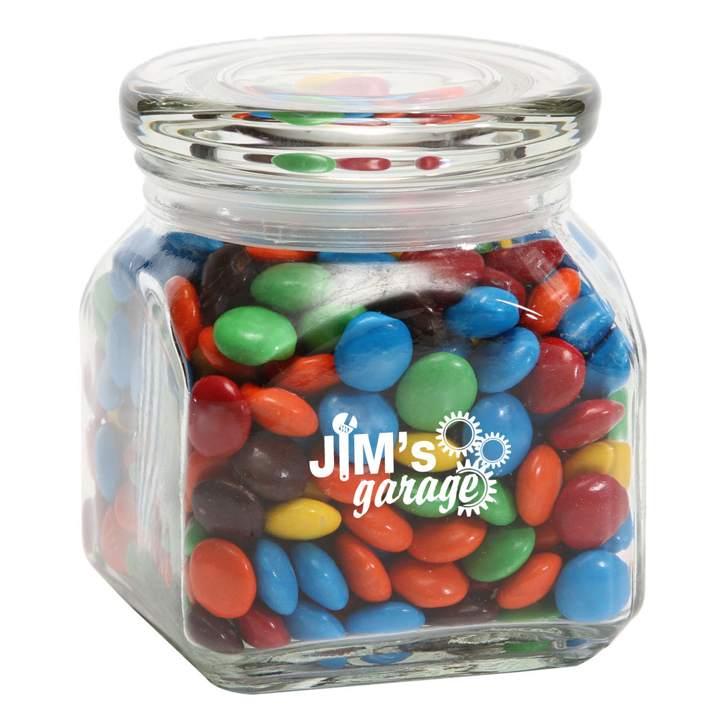 M&Ms - Plain in Small Glass Jar