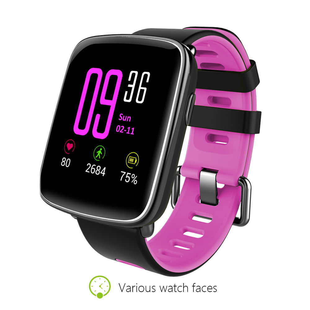 The Metro Sport smartwatch. Fully compatible with Apple and Android.