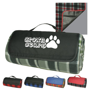 Blanket - Picnic Blanket Roll-up w/Liner