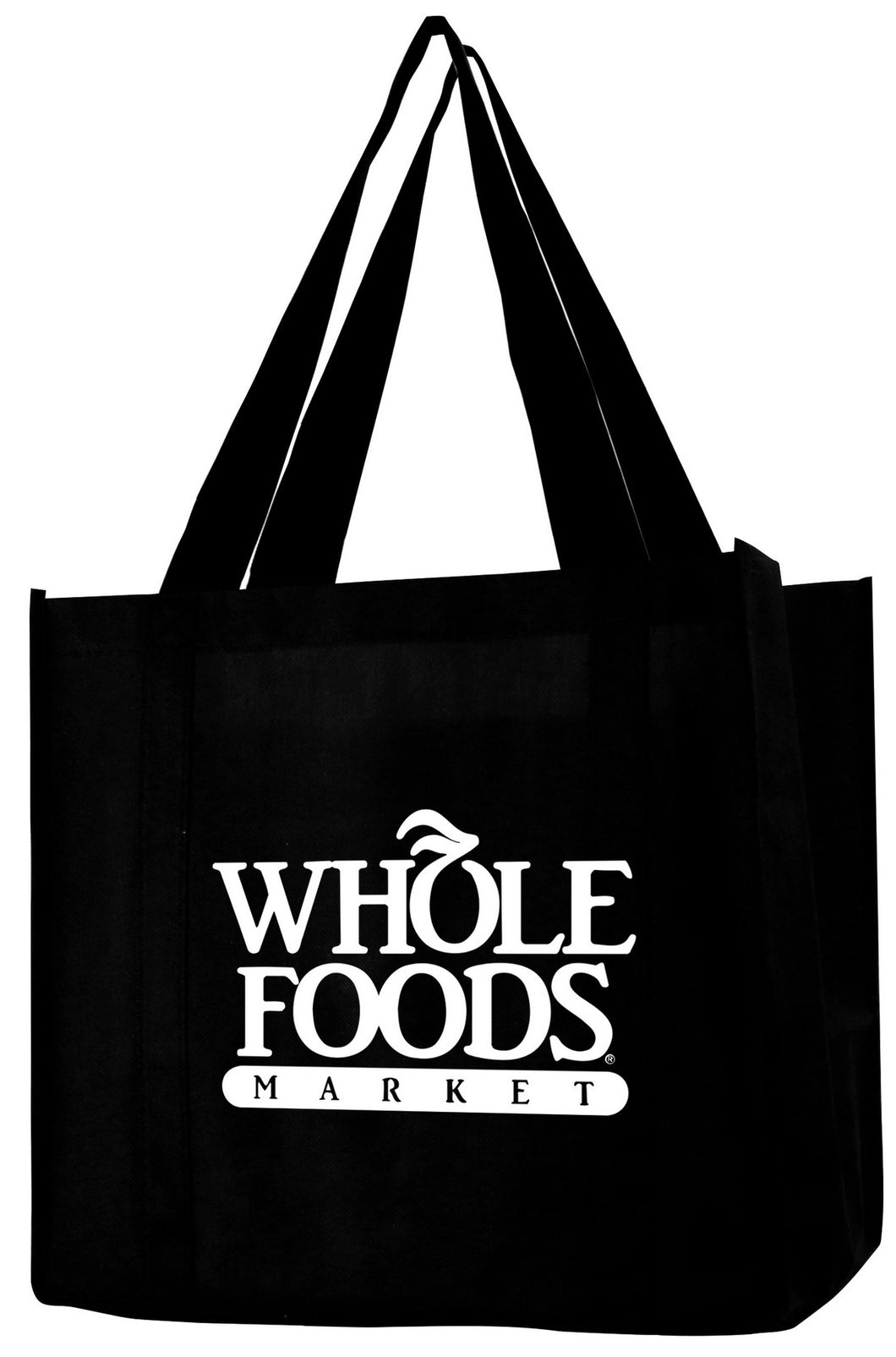 Non Woven Grocery Bag w/ Full Gusset - 1 Color (12 1/2