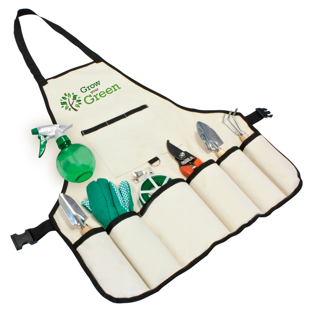 8 Piece Garden Apron Set
