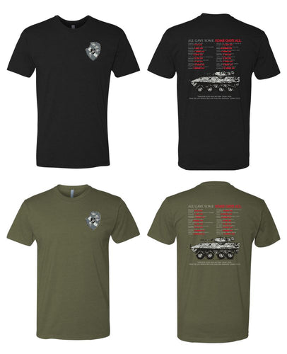 6210 Short Sleeve Tee - 3D LAR Memorial Design by Resolution Gear
