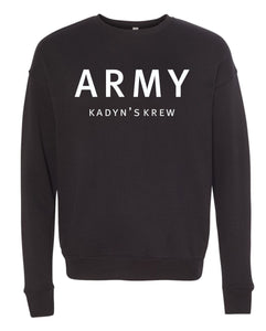 Drop Shoulder Crew Neck Sweatshirt (unisex) - Kadyn's Krew