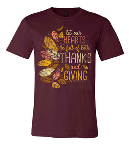 Thanksgiving Holiday Tee 2018 - Creator Designs Holiday Tee