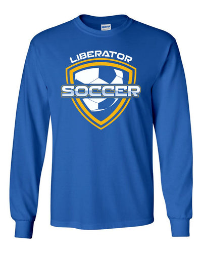 2400 Long Sleeve Tee - BHS Soccer